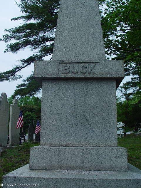 Buck Memorial